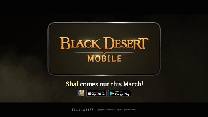 Shai s'annonce dans Black Desert Mobile