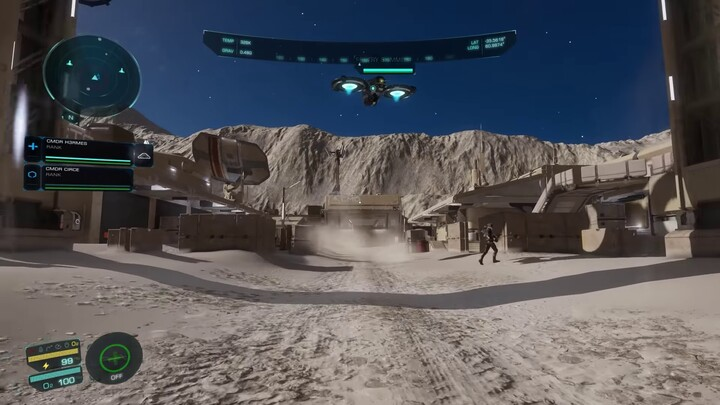 Alpha : aperçu d'une mission d'infiltration dans Elite Dangerous: Odyssey