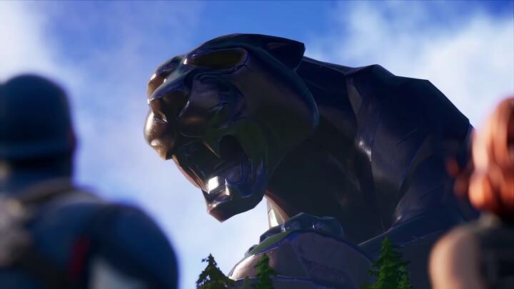 Black Panther, Captain Marvel et le Maître de corvée arrivent dans Fortnite