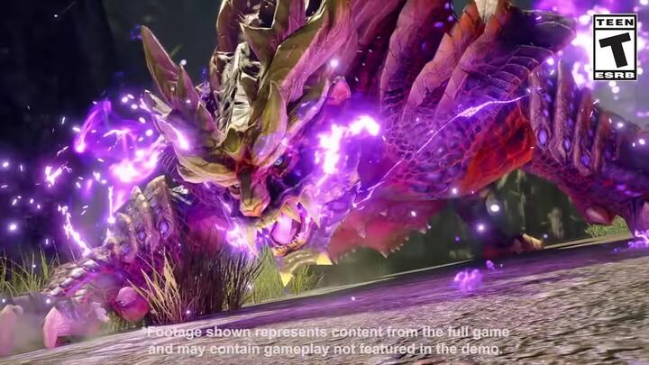 L'action-RPG Monster Hunter Rise présente Magnamalo