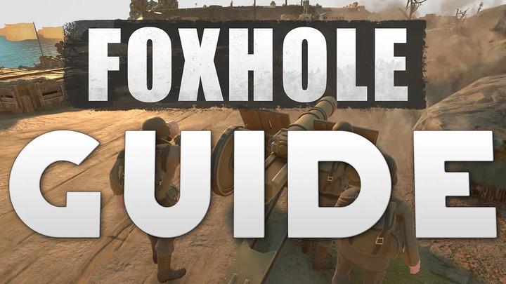 Guide de jeu : les bases de Foxhole (par le Colonial Recon Group)