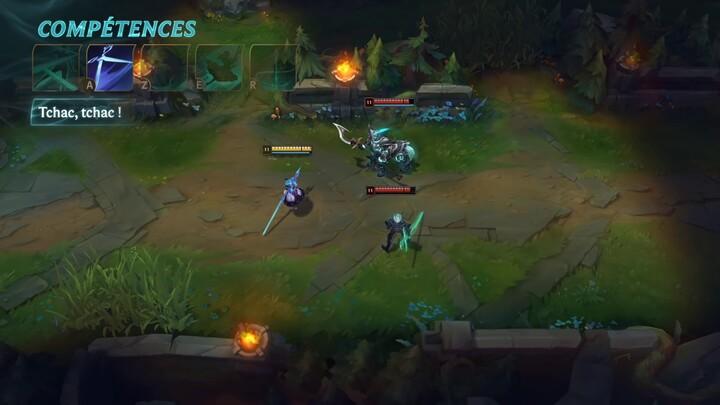 Focus sur le gameplay de Gwen, championne de League of Legends