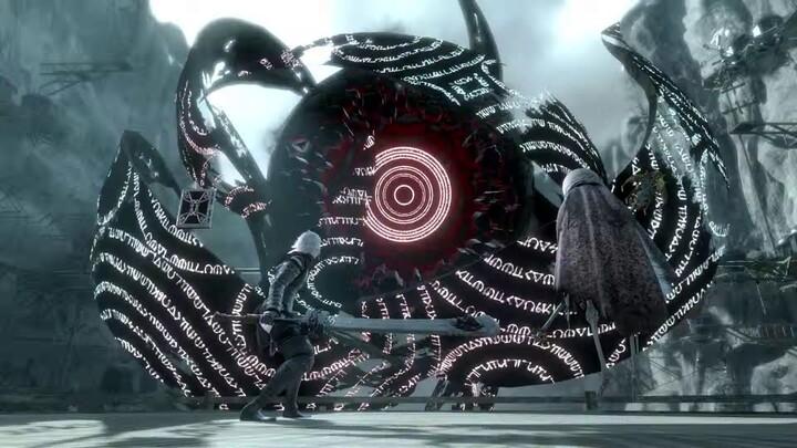 Version Gestalt de la cinématique d'ouverture de NieR Replicant ver.1.22474487139…