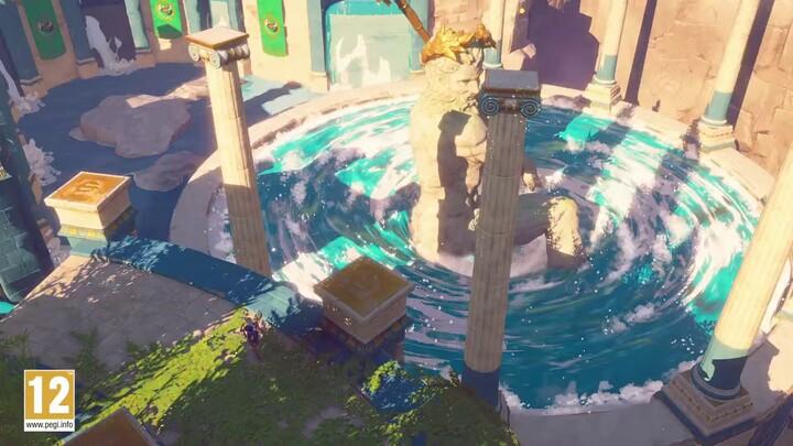 Les dieux perdus, le troisième DLC d'Immortals Fenyx Rising, est désormais disponible