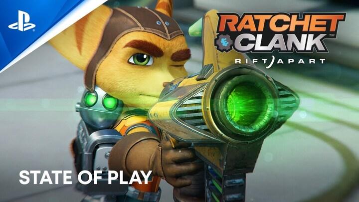 Ratchet & Clank: Rift Apart présente 15 minutes de son gameplay
