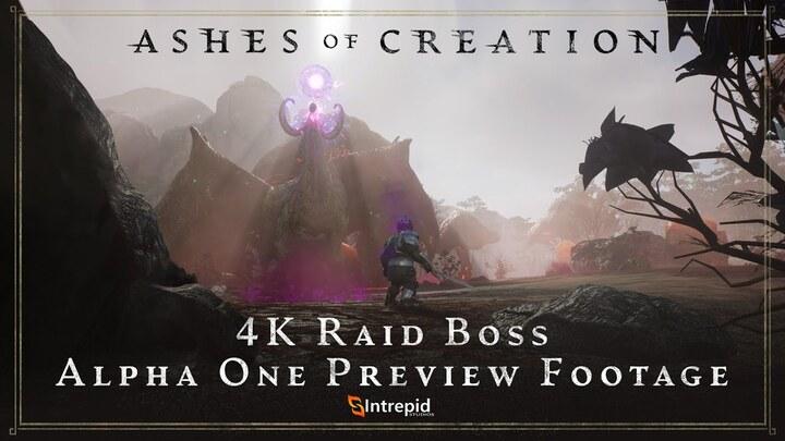 Alpha 1 d'Ashes of Creation : Raid de boss