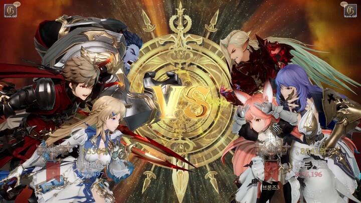 Aperçu de l'Arène du MMORPG cross-plateforme de Gran Saga