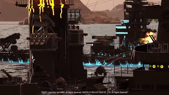 L'événement Godzilla vs Kong se poursuit dans World of Warships