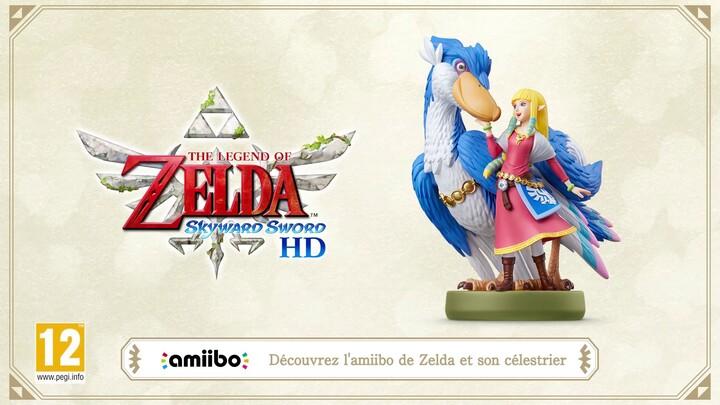 """Présentation de l'amiibo """"Zelda et son célestrier"""" accompagnant The Legend of Zelda: Skyward Sword HD"""