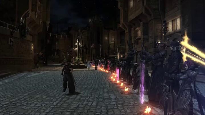 """Hommage par les joueurs à Kentaro Miura, l'auteur de """"Berserk"""" sur Final Fantasy XIV Online"""