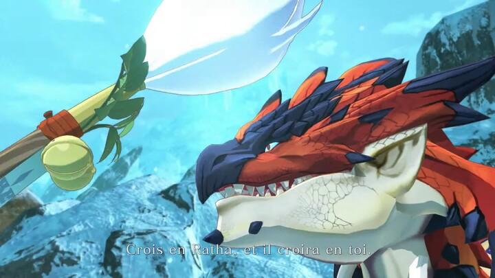 Quatrième bande-annonce du RPG Monster Hunter Stories 2: Wings of Ruin