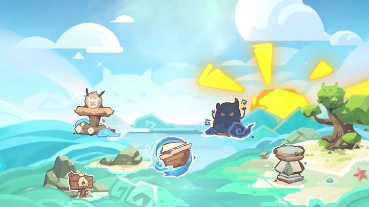 Bande-annonce de la mise à jour 1.6 de Genshin Impact « Odyssée estivale dans les îles »