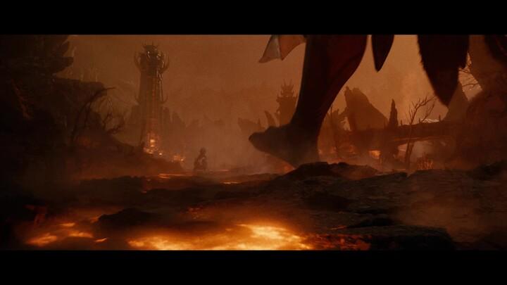 Cinématique de lancement de l'extension Blackwood d'Elder Scrolls Online: les Portes d'Oblivion