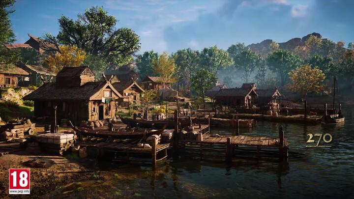 E3 2021 - Ubisoft Forward - Du contenu supplémentaire pour Assassin's Creed Valhalla