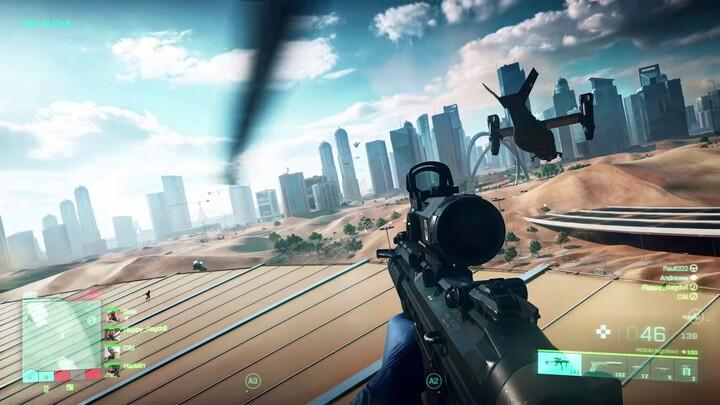 E3 2021 - Xbox&Bethesda Showcase - Battlefield 2042 présente son gameplay