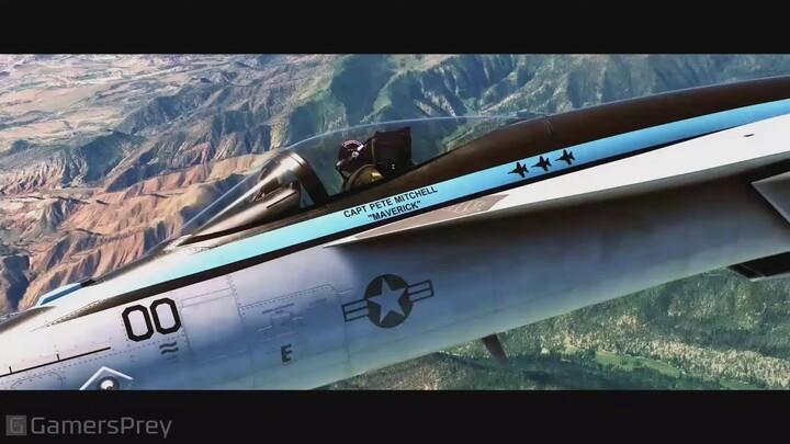 E3 2021 - Xbox&Bethesda Showcase - Flight Simulator annonce un crossover avec Top Gun