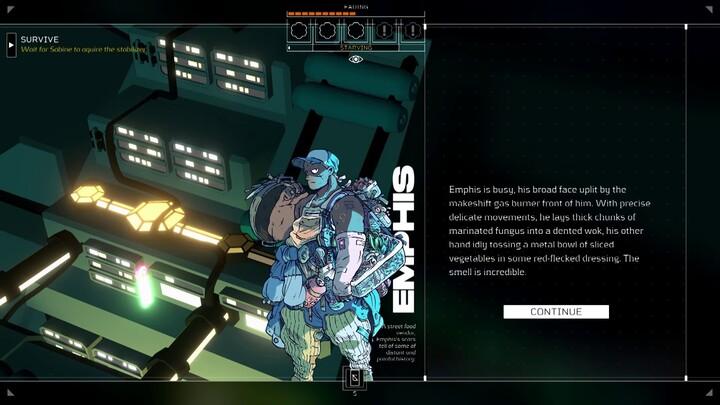 E3 2021 - Future Games Show - Citizen Sleeper trailer
