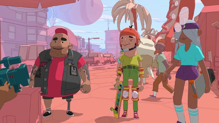 E3 2021 - Future games Show - Olli Olli World se dévoile lors de l'E3