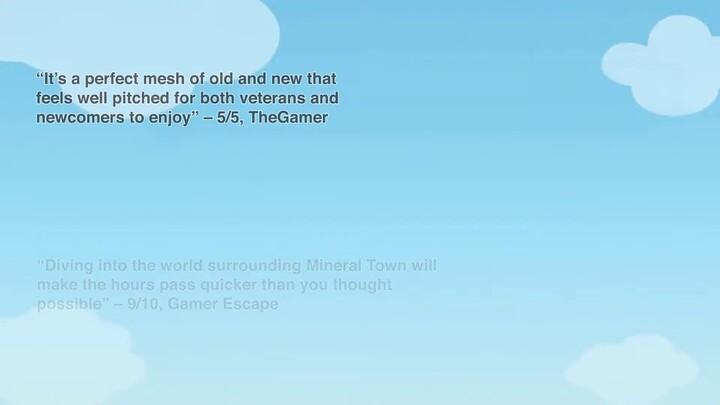 Le remake de Story of Seasons - Friends of Mineral Town sortira sur PS4 et Xbox cette année