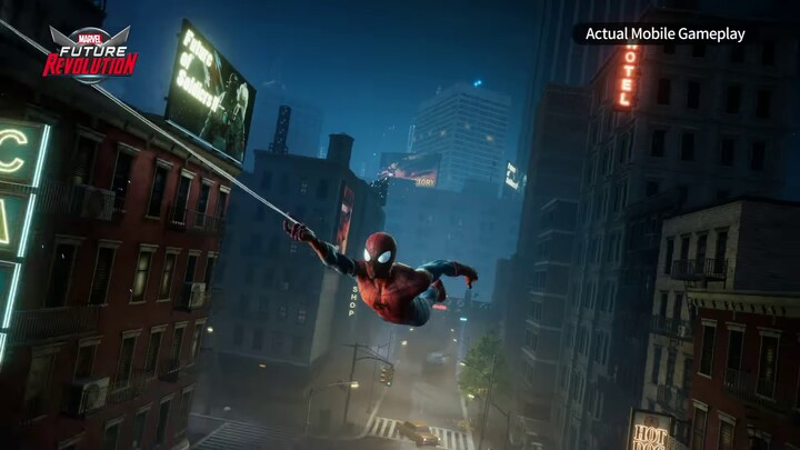 Spider Man s'annonce dans Marvel Future Revolution