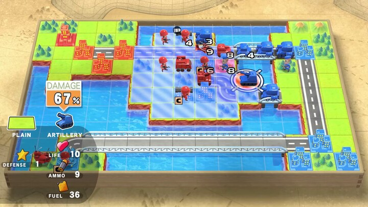 E3 2021 - Nintendo Direct - Advance Wars 1+2: Re-Boot Camp arrive sur Nintendo Switch