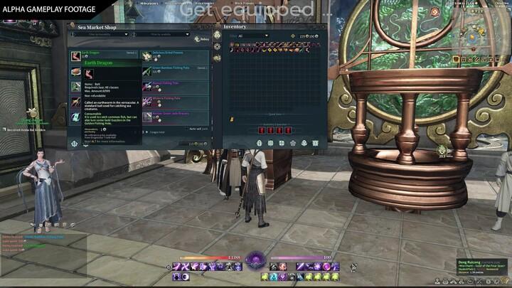 Swords of Legends Online illustre son système de pêche