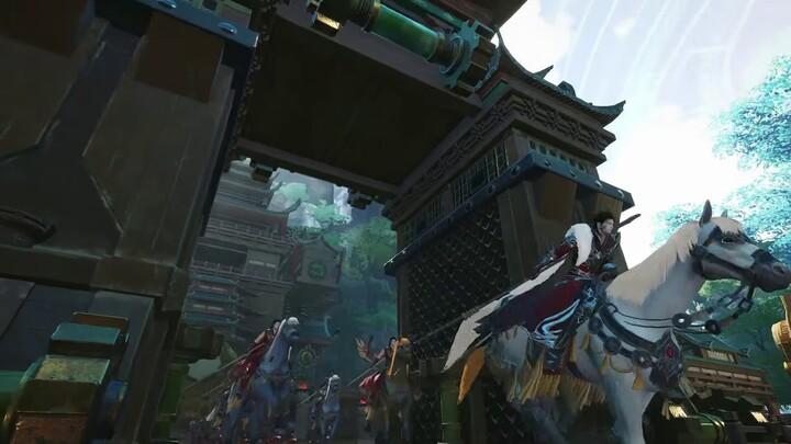 Cinématique de lancement de Swords of Legends Online