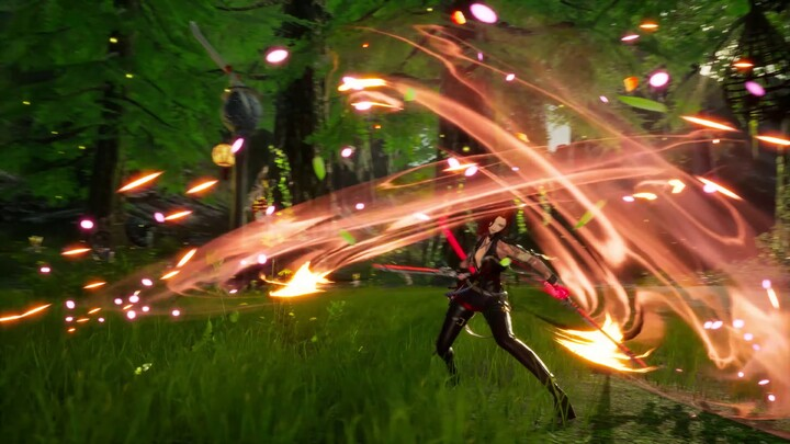 Aperçu du gameplay du Double Lame de Blade and Soul