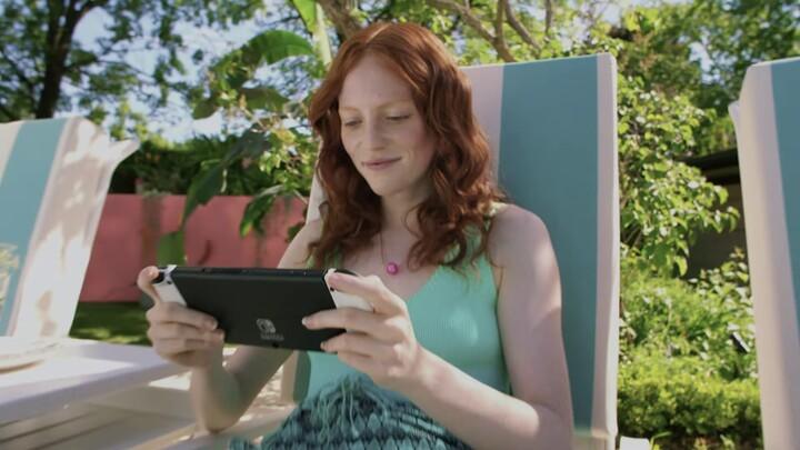 Présentation de la console Nintendo Switch (modèle OLED)