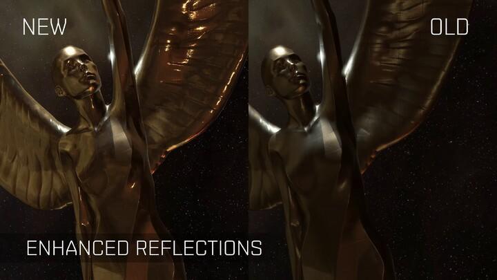 Aperçu des améliorations visuelles sur EVE Online