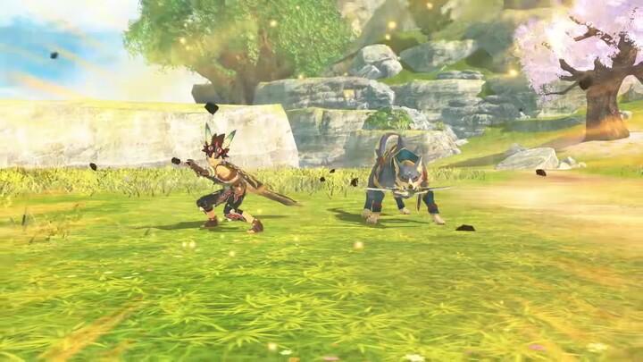 Monster Hunter Stories 2 - un nouveau monstie qui a du chien !