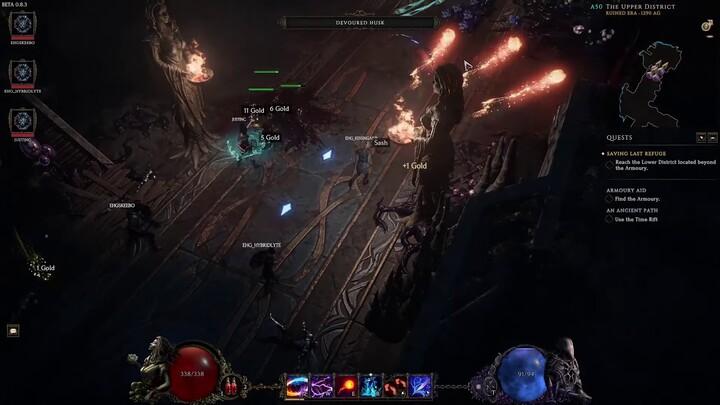 Présentation du gameplay multijoueur - Juillet 2021