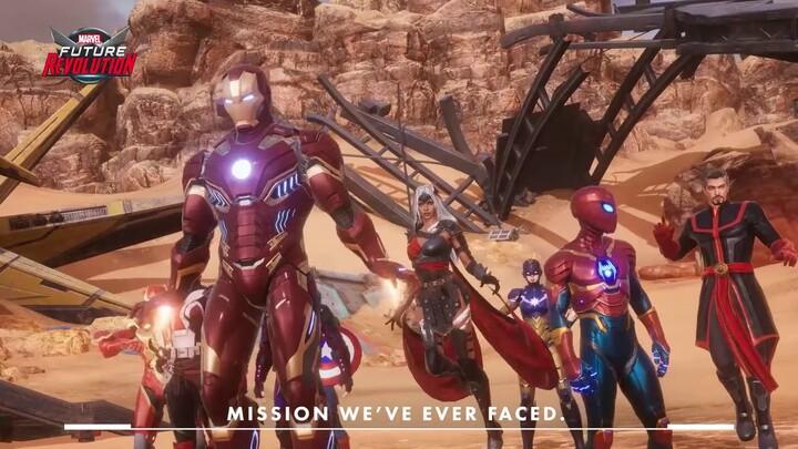 Bande-annonce de lancement de Marvel Future Revolution