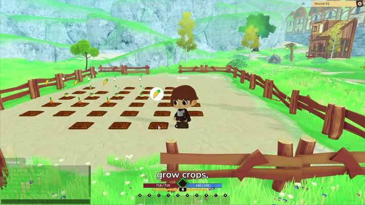 Aperçu du MMORPG Cinderstone Online