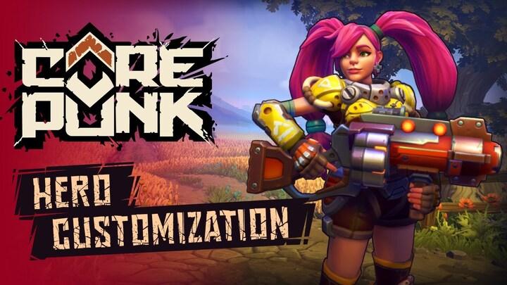 Aperçu de l'outil de création de personnages de Corepunk