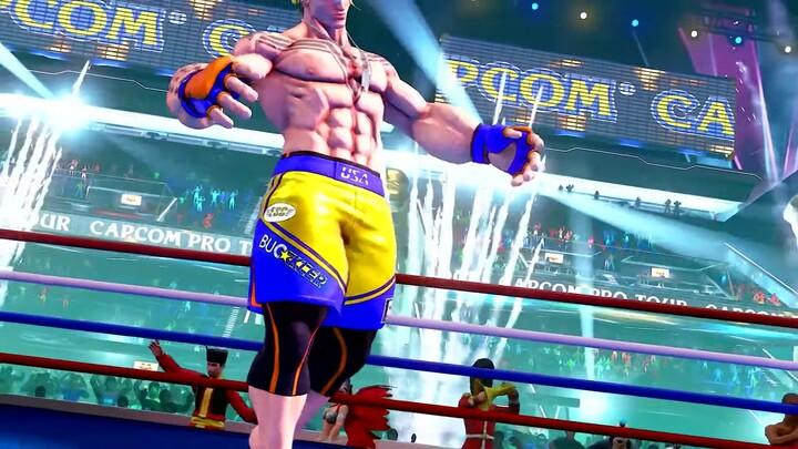 Luke s'annonce dans Street Fighter V: Champion Edition
