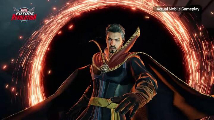 Aperçu du gameplay de Dr Strange dans Marvel Future Revolution
