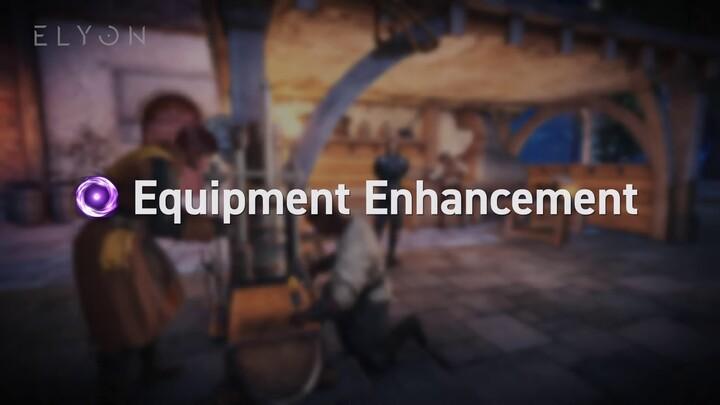 Aperçu du système d'équipements et d'améliorations d'Elyon