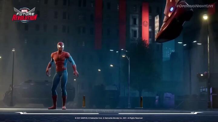 gamescom 2021 - Bande-annonce de Marvel Future Revolution