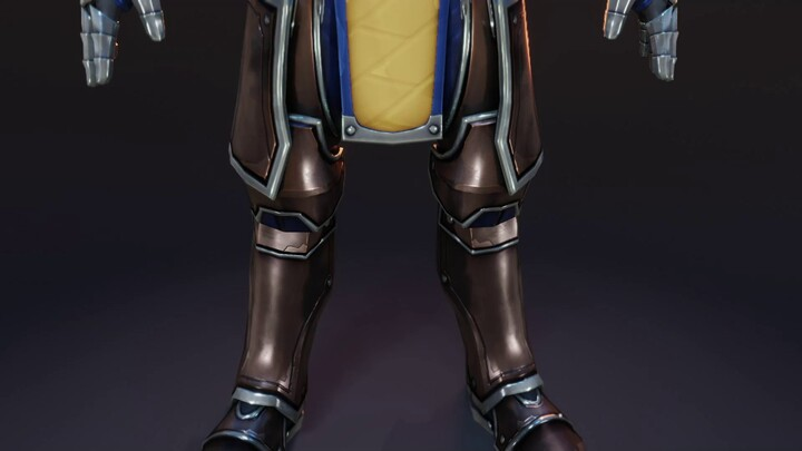 Aperçu des armures de plates du MMORPG Profane