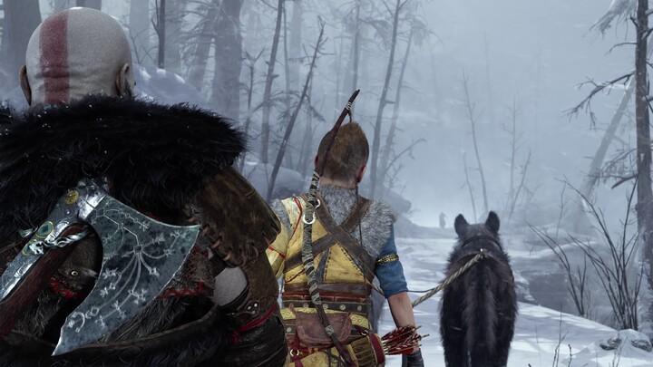 God of War Ragnarök : Kratos met les choses au poing au PlayStation showcase