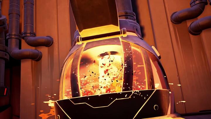 Le béhémoth Phaelanx débarque dans la Raffinerie incendiaire de Dauntless