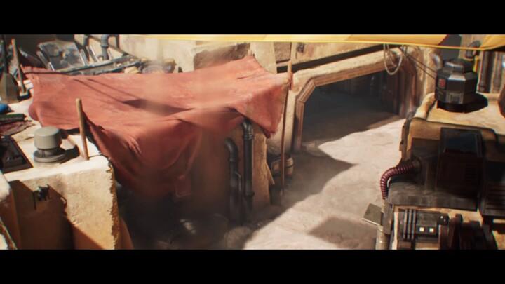 Bande-annonce cinématique de Star Wars: Hunters