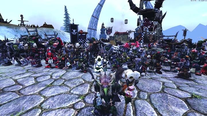 Evénement : treizième anniversaire de Warhammer Online «Les Orks sont prêts pour la waaaagh! »