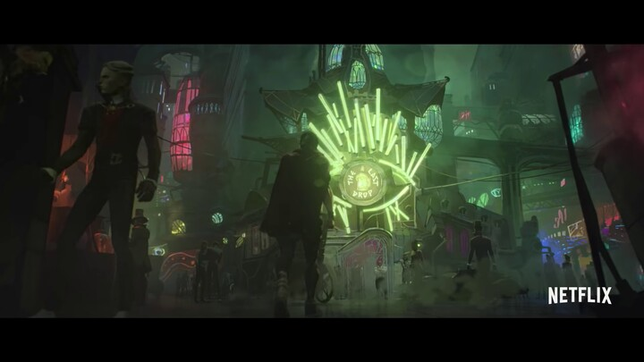 Bande-annonce officielle de la série d'animation Arcane (League of Legends)