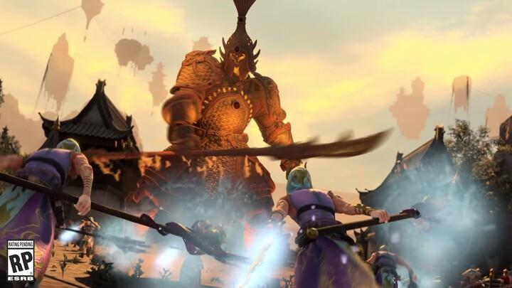 Aperçu des Sentinelles de terre cuite du Grand Cathay de Total War Warhammer III