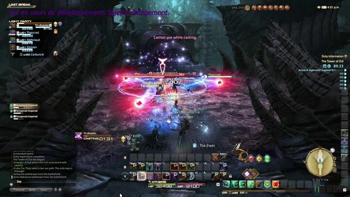 Final Fantasy XIV: Endwalker - La tour de Zot