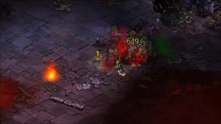 Aperçu des combats de mêlée du MMORPG Mad World