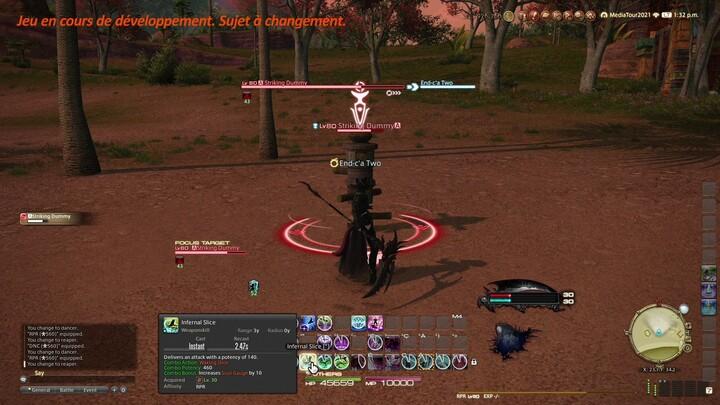 Final Fantasy XIV: Endwalker - Démonstration Faucheur
