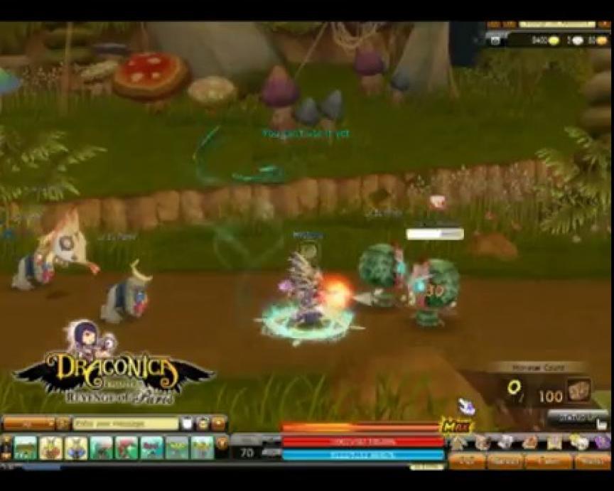 Quatrième évolution des classes de Dragonica : Sentinelle